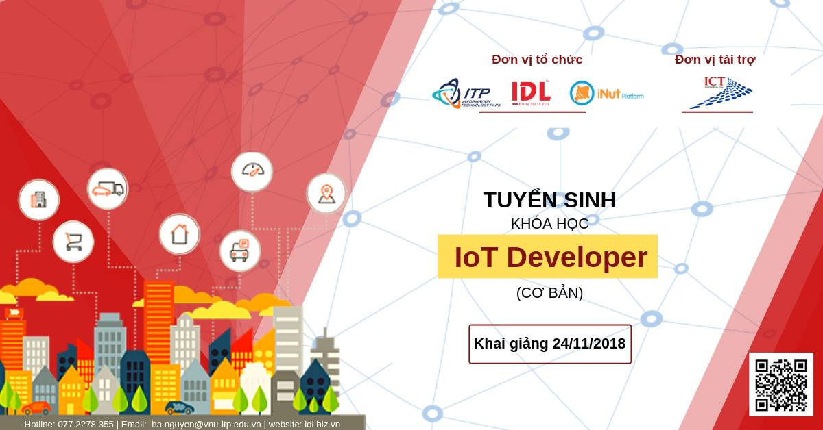 khoa dao tao IOt DEVELOPER